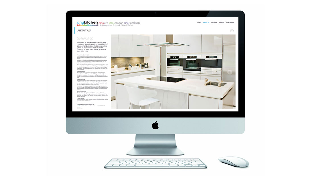 Any Kitchen Website