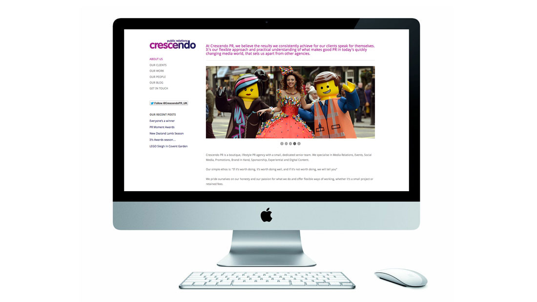 Crescendo Website