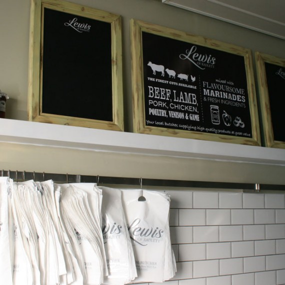 Lewis of Radlett Blackboards and Bags