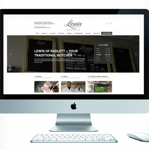 Lewis of Radlett Website