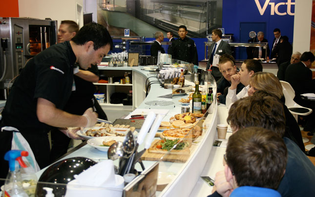 Manitowoc Catering on Stand