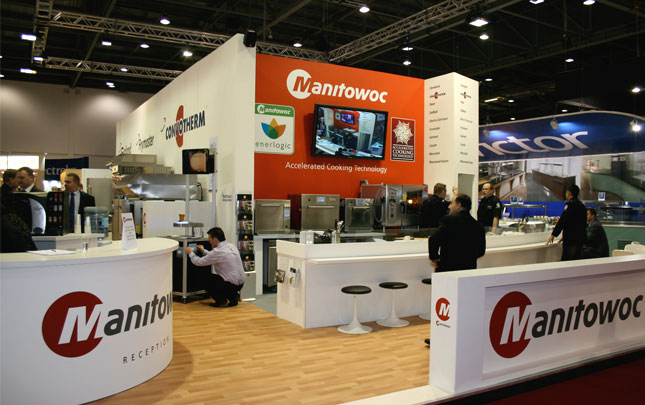 Manitowoc Built Expo Stand