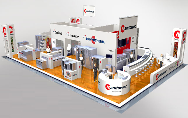 Manitowoc 3D Expo Stand