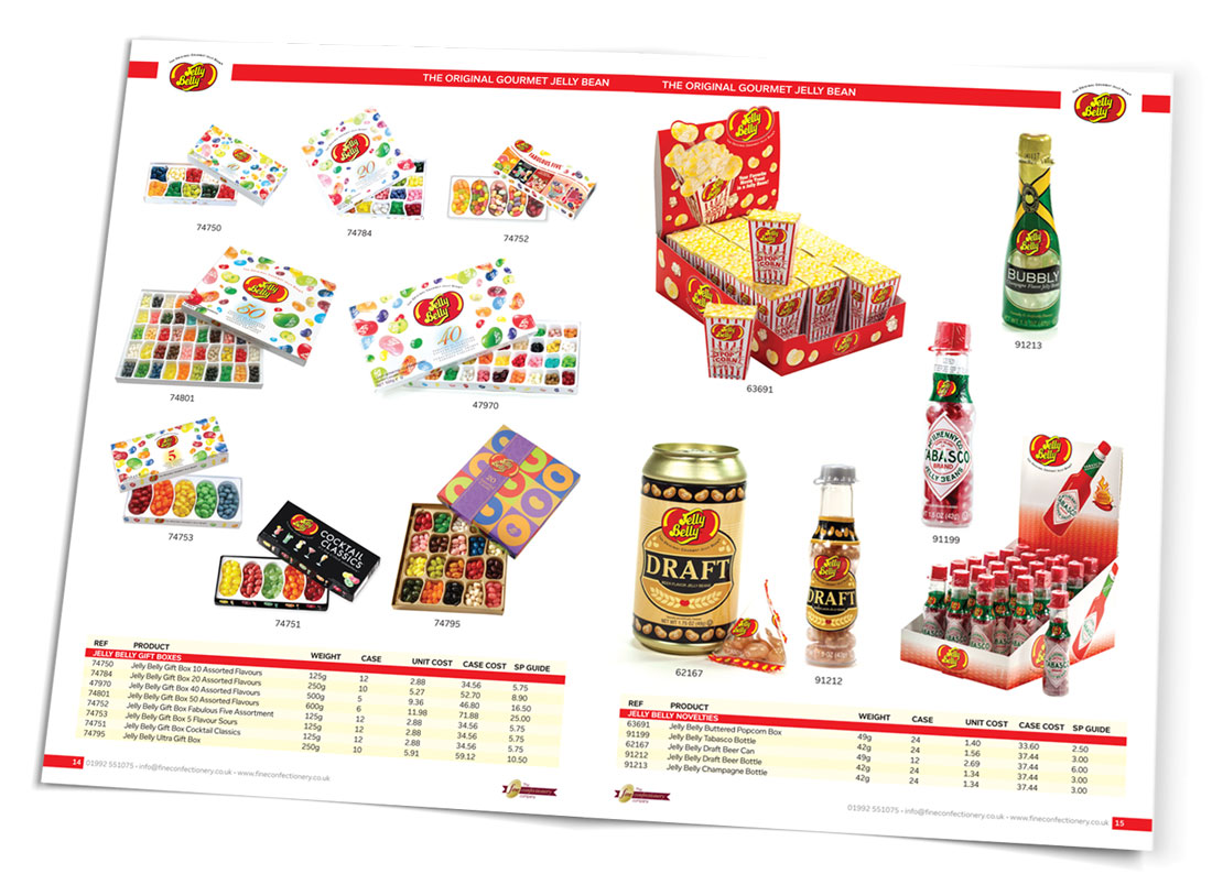 Fine Confectionery Jelly Belly Spread