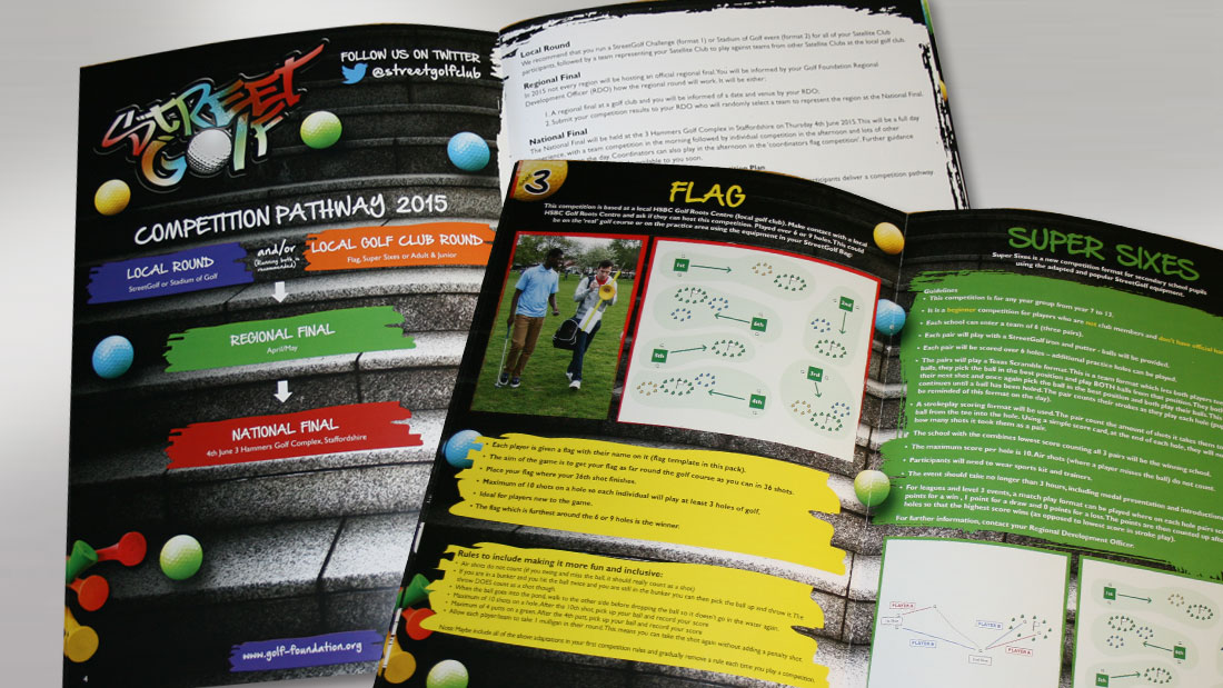 Street Golf Manual Spreads