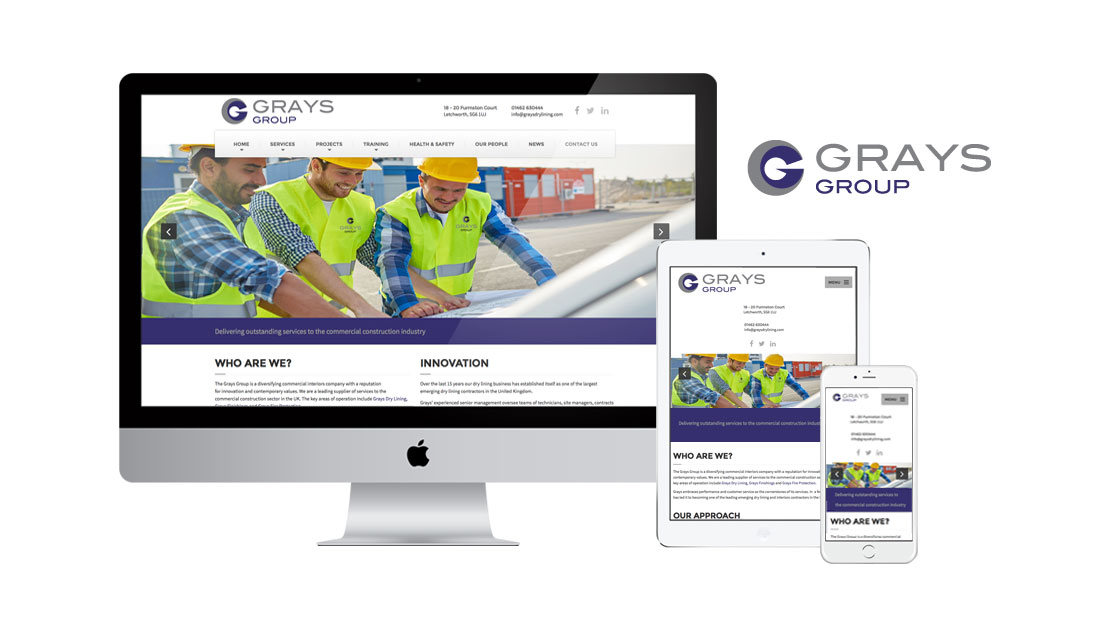 The Grays Group Website