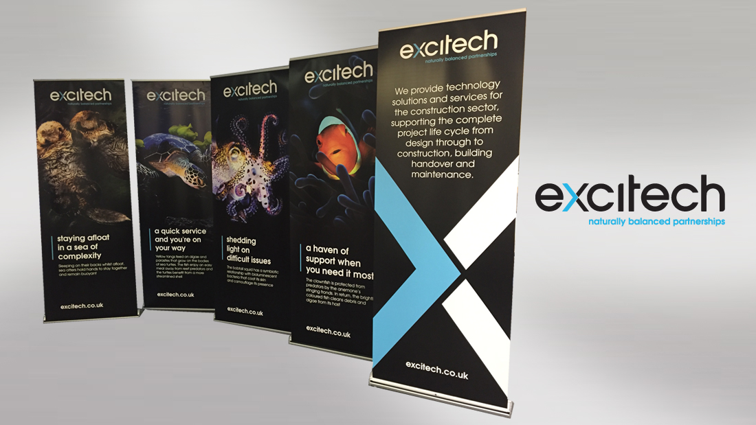 Banners for Exhibitions